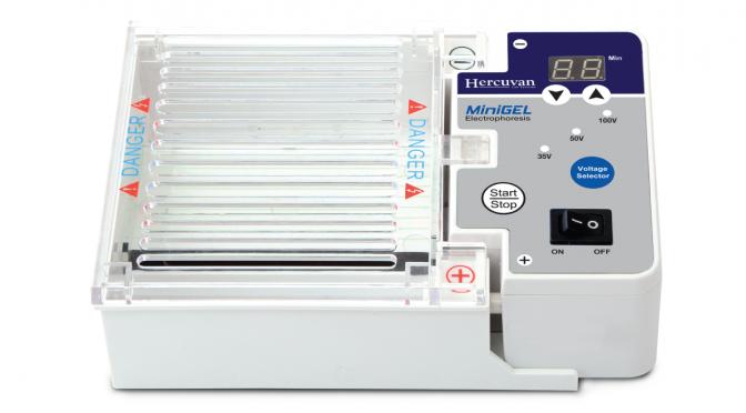 TT-HES-1 MiniGEL Electrophoresis System